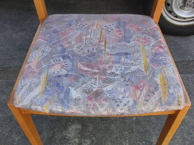家庭用椅子張り替え②