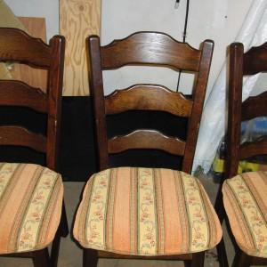 家庭用椅子張り替え③